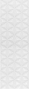 12119R Диагональ белый структура обрезной 25x75 - фото 87247