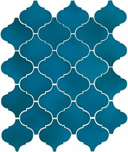 65007 Арабески Майолика синий 26х30 - фото 87406