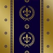 Capricho De Los Zares Faberge Cobalto 20x20