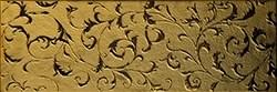 Декор керамич. TOLSTOI GOLD
