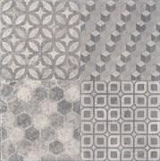 4226 Саттон орнамент серый