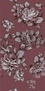 Декор Аллегро Цветы бордо 20x40