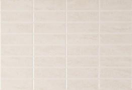 DELI Плитка Настенная белая рифлёная RW 27,5x40
