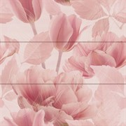 Tulipan 3 berna lavanda Панно (из 3х плиток) 75x75
