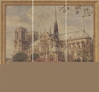 Декор Decor Set (3) Notre Dame 25*70 (отпуск.компл. 3 шт)