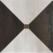 Dorian Trapecio White-Graphit Nat/Ret 60x60