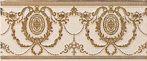 Loire Listelo Agustine Gold Ivory 10x25
