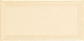 METRO Biselado Crema Brillo 10x20