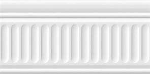 19030\3F Бордюр Карнавал в Венеции белый структурированный