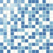 Мозаика Glass Turchese Mix Carta 32,7х32,7