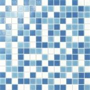 Мозаика Glass Turchese Mix Rete 32,7х32,7