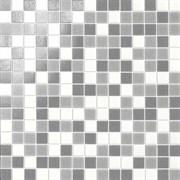 Мозаика Glass Grigio Mix Rete 32,7х32,7