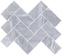 Мозаика Marmori Шеврон Дымчатый Серый (5*10) 31,5х28