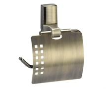 Держатель туалетной бумаги с крышкой Wasserkraft Exter K-5225